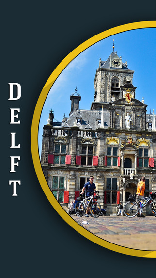 Delft City Offline Travel Guide