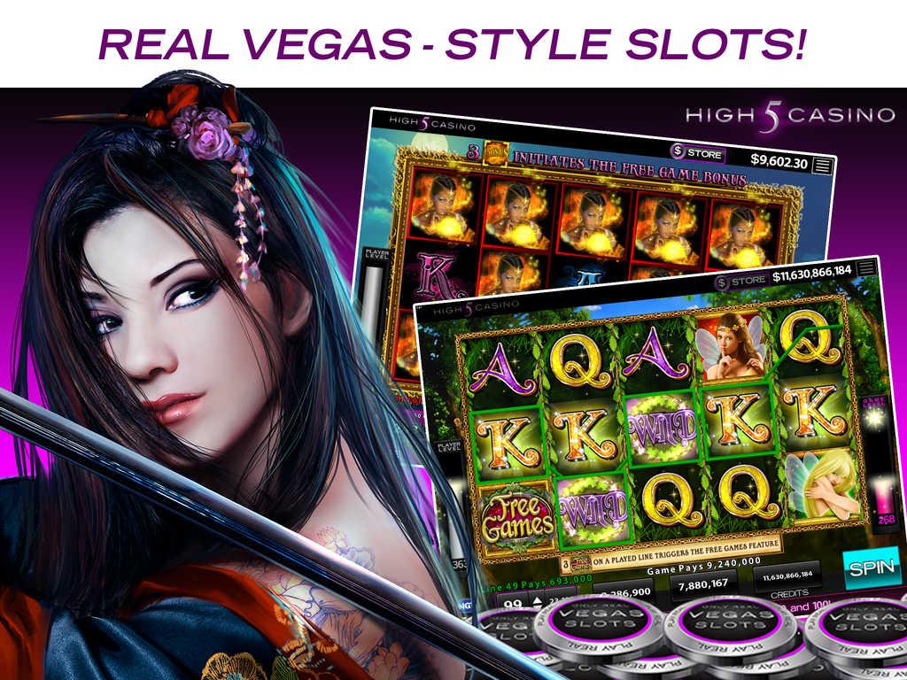 high 5 casino login