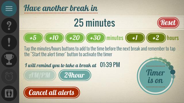 Get Up - Work Break Timer Screenshots