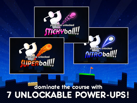 Super Stickman Golf iPad Screenshot 5