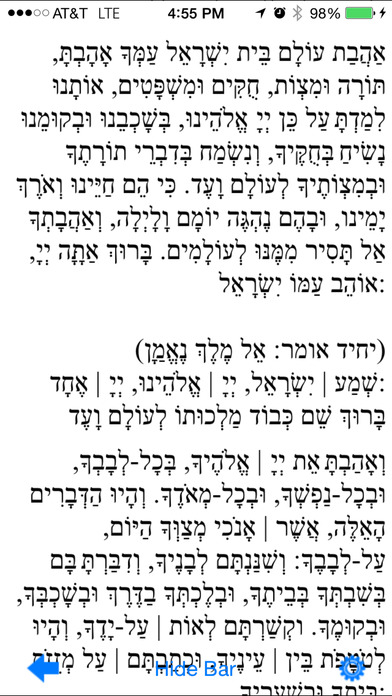Pocket Luach Deluxe - The Jewish Calendar (siddur, zmanim) iPhone Screenshot 3