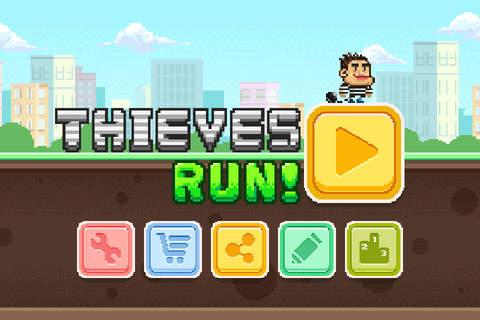 Thieves Run - Twin Running screenshot 2