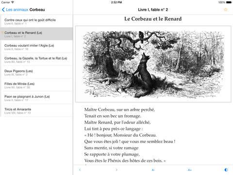 Fables, Jean de La Fontaine iPad Screenshot 3