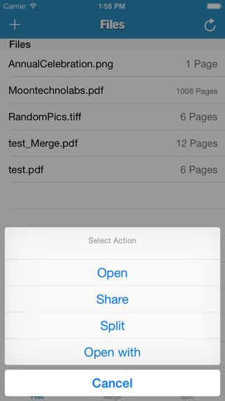 PDF - Split Merge