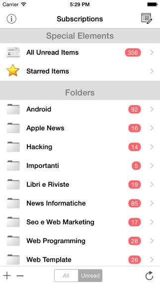 NewsFeed - Feedly RSS News Client