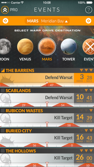 Events for Destiny — Track Public Events Timers and Rank Up Fast