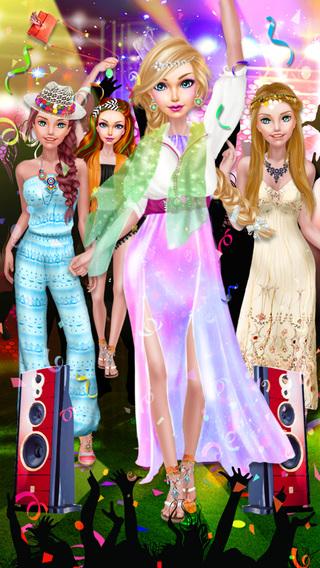 Little Miss Party Girls - Music Festival Salon