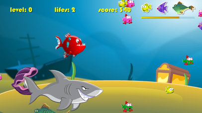 Screenshot 1 Big fish eat Small fish Game