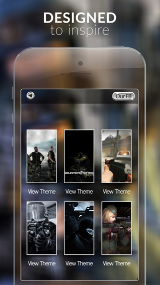 Video Games Wallpapers : HD Action Gallery Themes and Backgrounds Counter Strike Collection