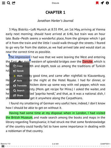 KyBook - EPub,FB2,PDF,DjVu Reader Screenshots