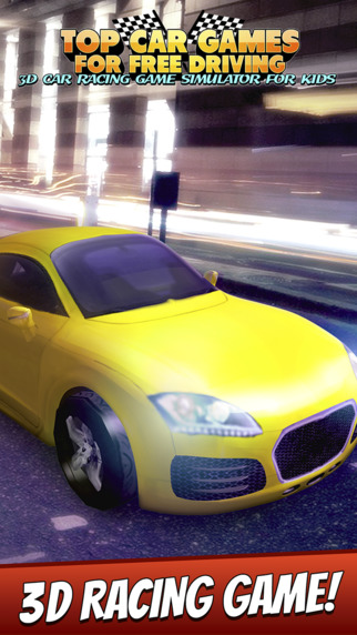 Top Car Games For Free Driving - 3D Car Racing Game Simulator For Kids