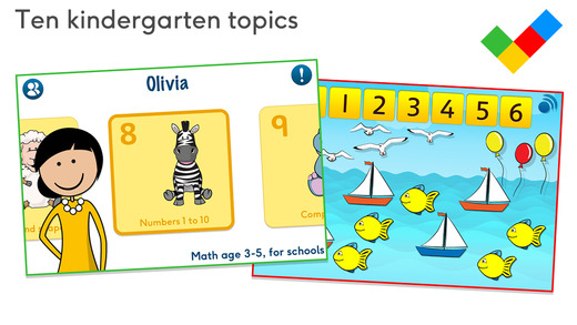 Math age 3-5 for schools