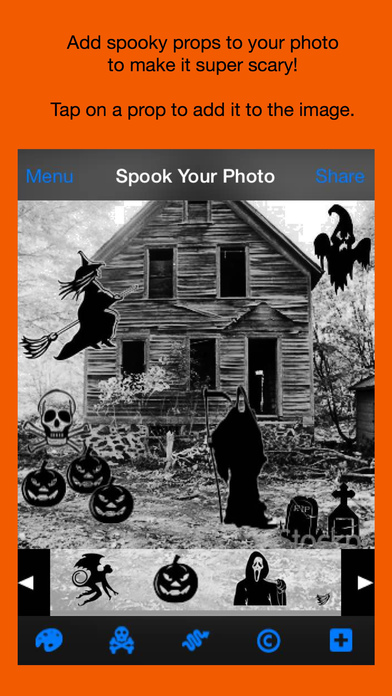 Spook Your Photo iPhone Screenshot 3