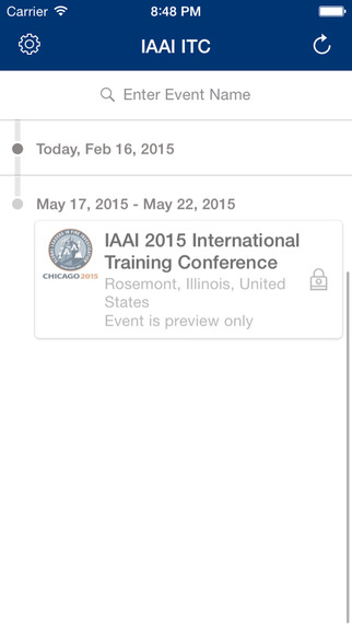 International Association of Arson Investigators's 2015 International Training Conference App