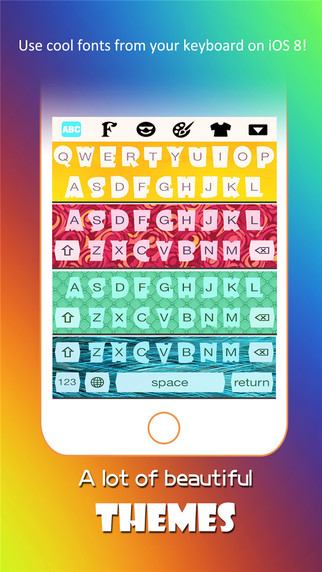 Emoji Keyboard-Smiley Pic Icons with Cool Fonts Color Themes