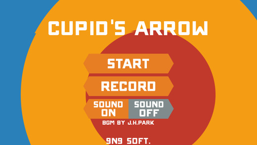 Cupid's Arrow.