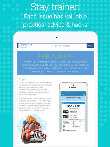 iSecrets - magazine about gadgets, secrets and tricks for iPhone and iPad screenshot