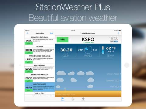 Station Weather Plus - METAR and TAF Aero Weather