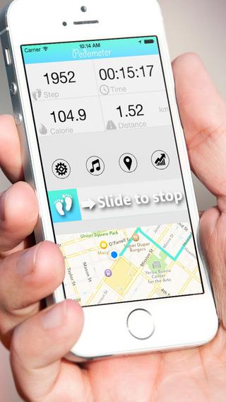 GPS Pedometer + Running Walking and Training Tracker