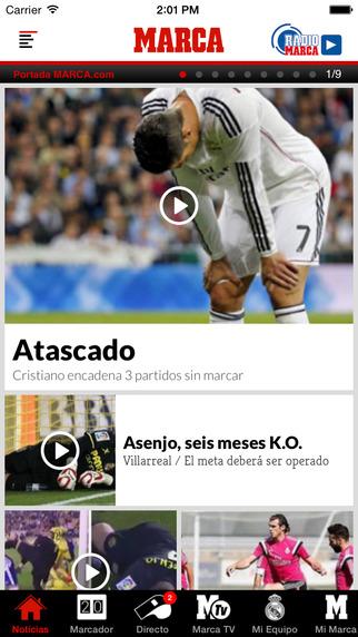 MARCA - Diario líder deportivo. Noticias retransmisiones TV y resultados en directo.