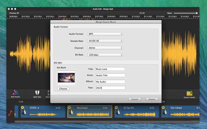 Audio Edit Pro - Merge Split Screenshot - 5