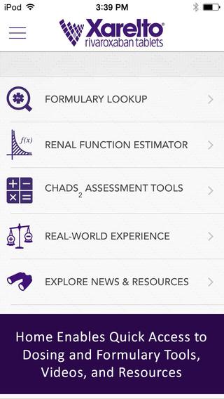 XARELTO® DocCenter – HCP Prescribing Information
