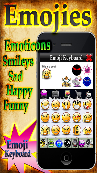 Emoji 4+ - Free Emoticons And Smileys for iPhone iPod