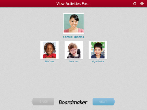 Boardmaker Student Center