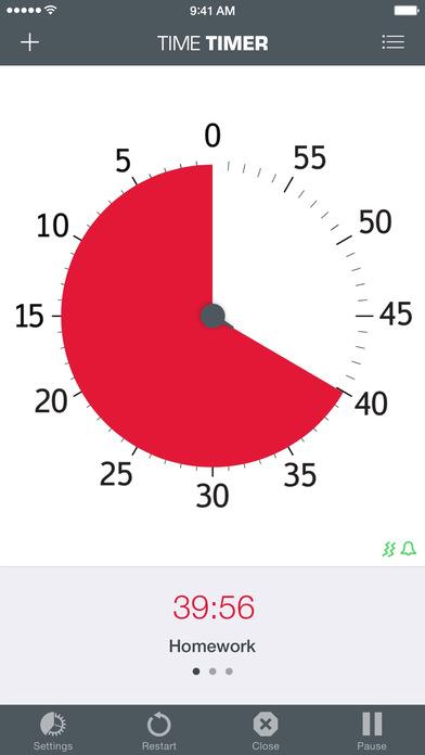 Time Timer iPhone Screenshot 2
