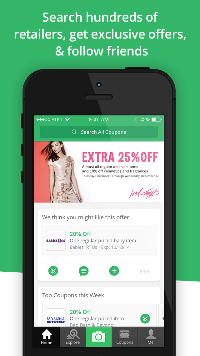 SnipSnap Coupon App