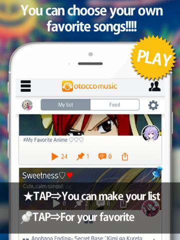 Screenshot 2 Anime Free Music-OtaccoMusic