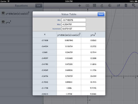 Quick Graph+: Your Scientific Graphing Calculator screenshot