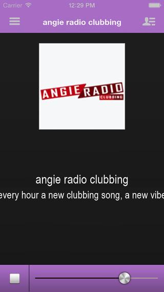 Angie Radio Clubbing