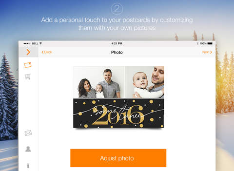 Popcarte - Send personalized and printed Postcards & Panoramic cards for Summer Holidays, Birthdays & Vacation Memories Screenshots