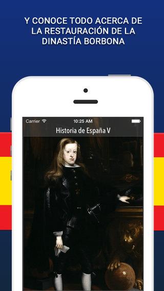 Historia de España - 5ta Parte iPhone Screenshot 2
