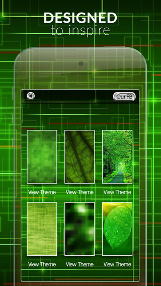 Green Gallery HD – Cool Effects Retina Wallpapers Themes and Backgrounds