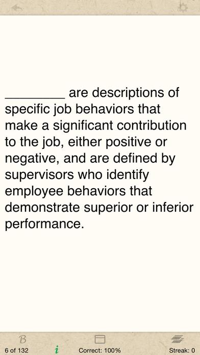 Ethics, I/O Psychology, & Community Psychology (EPPP) iPhone Screenshot 3