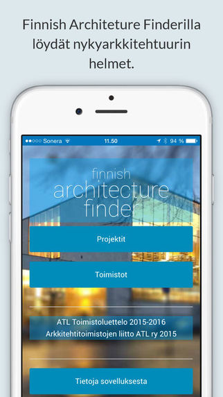 Finnish Architecture Finder