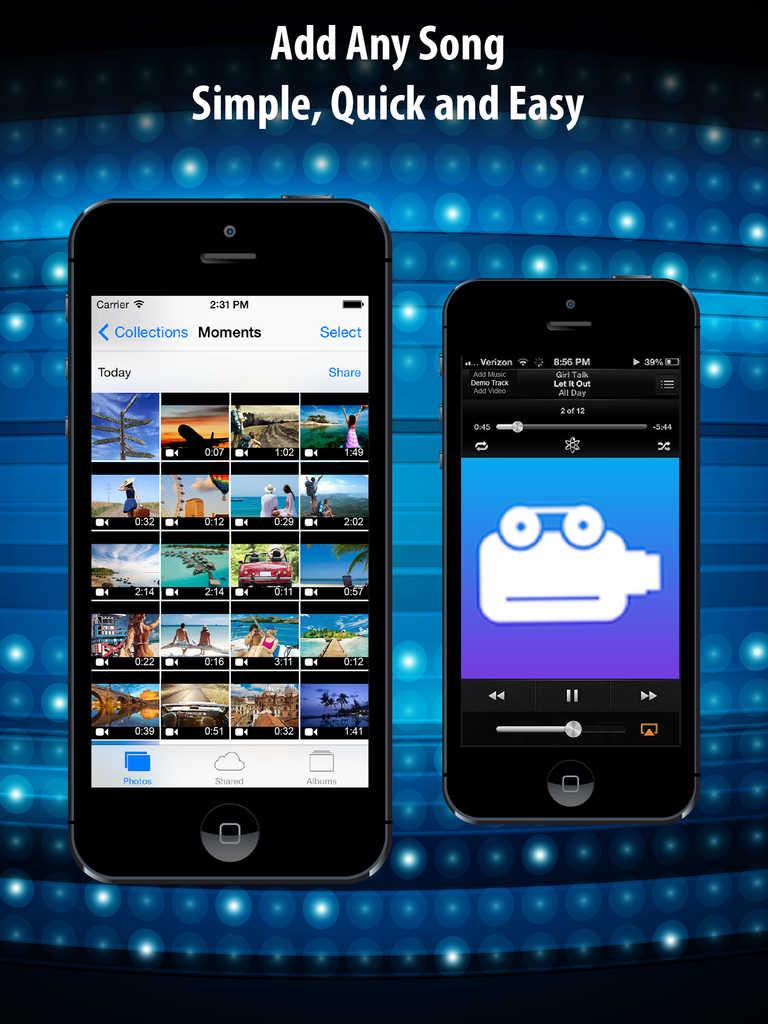 app shopper instamusic video free   merge songs for vine