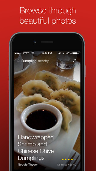 Nextbite – Discover food by dish