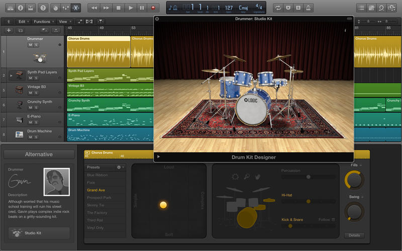 Logic Pro X for Mac 10.3.4 for Mac 激活版 - 最专业强大的音乐制作软件