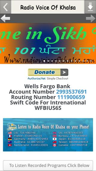 Radio Voice Of Khalsa new