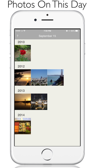 Photo Flashback: Photos Taken on This Day with Watch app and Today Widget