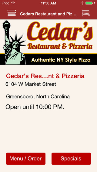 Cedar's Restaurant Pizzeria