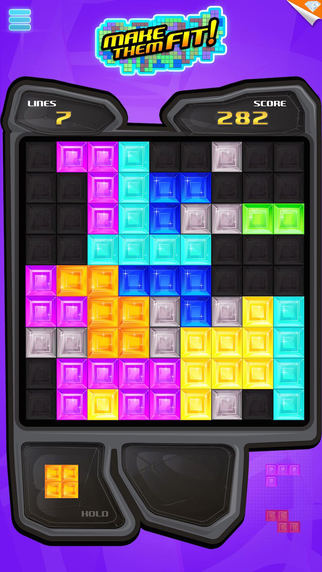 Make Them Fit ~ tetromino puzzle