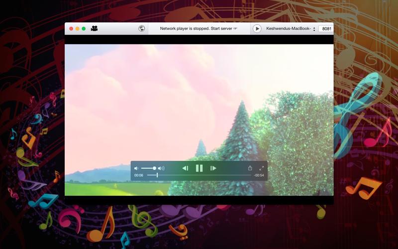 多媒体影音播放器 Network Player for Mac