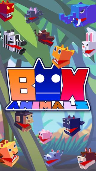 Box Animals - Eat or be eaten