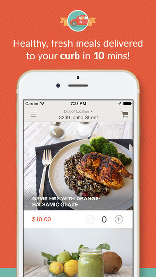 SpoonRocket - Best On Demand Food Delivery App