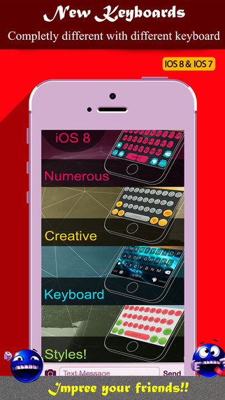Color Keyboards for iOS 8 7