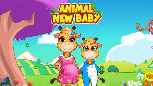 Mommy's Newborn Giraffe Baby - Animal Care Nursery Game